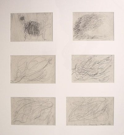 Sketches in Response to a Musical Composition - Brenda Chamberlain