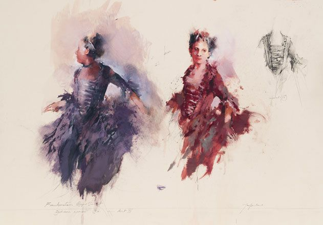 Ballroom Women, Frankenstein, Royal Ballett, Covent Garden - John Macfarlane