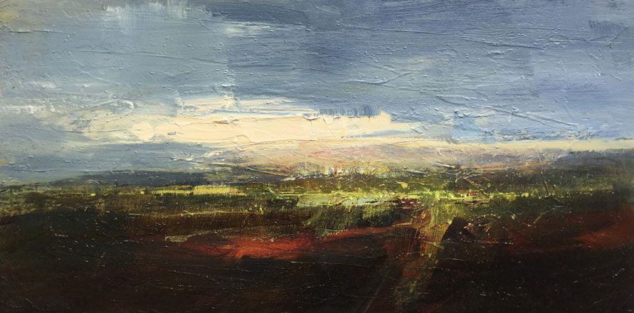 Dusk in the Levels, Wentloog - Richard Barrett