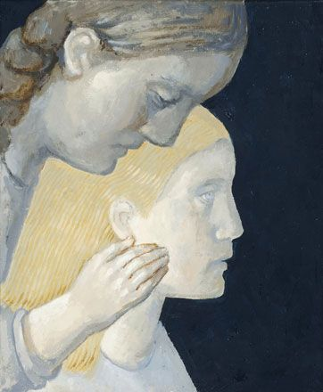 A Mother and Her Daughter I - Evelyn Williams