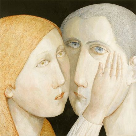 Heloise and Abelard - Evelyn Williams