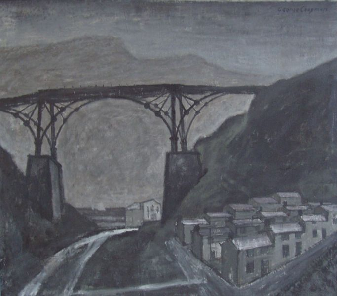 Iron Bridge, Aberfan - George Chapman