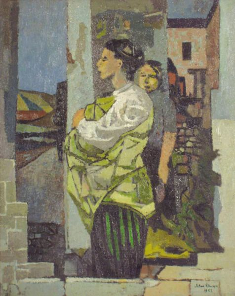 Mother and Child - John Elwyn
