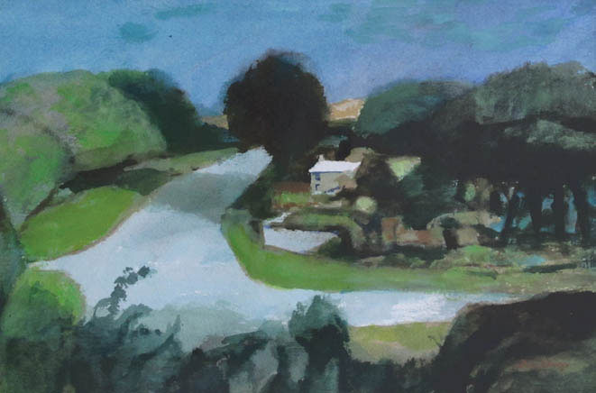On the Road To New Quay - John Elwyn