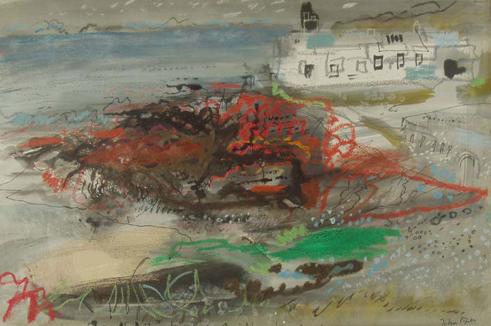 From St. Brides Towards St. Davids - John Piper
