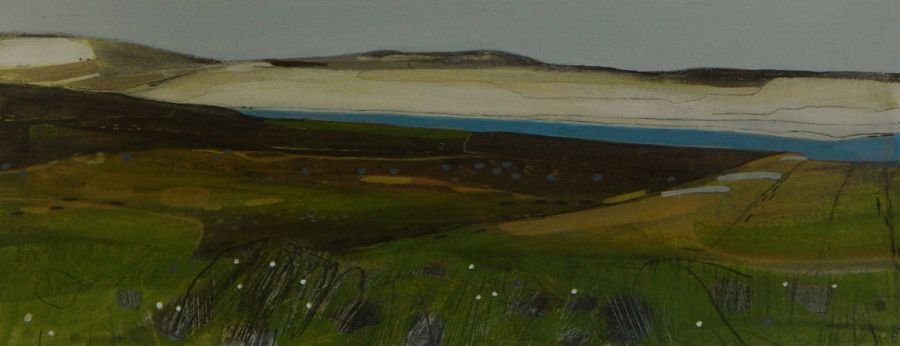 Looking Towards Llyn Aled I - Sarah Thwaites