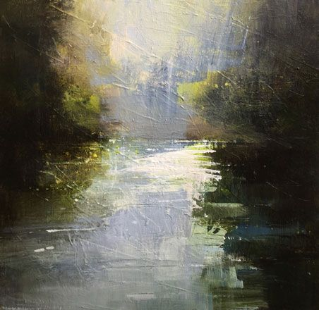 Pockets of Mist, River Taff - Richard Barrett