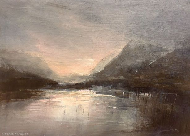 First Light, Llyn Padarn - Richard Barrett