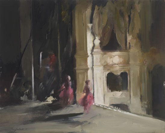 Red Dancers at the Old Bedford - John Macfarlane