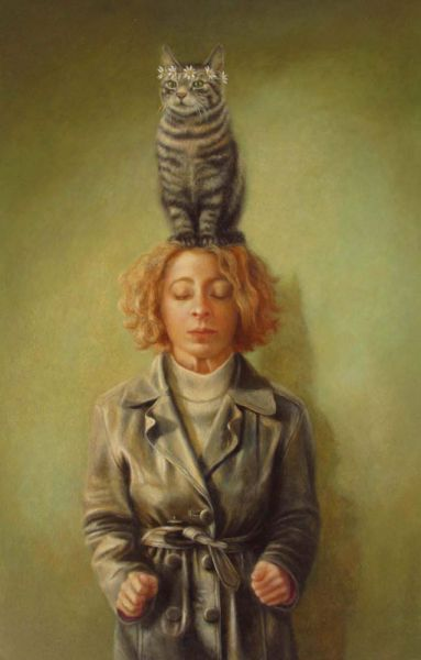 Cat Hat - Sally Moore