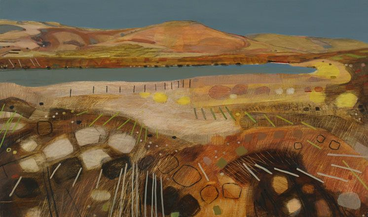 Keeper's Pond, Towards the Sugar Loaf II - Sarah Thwaites