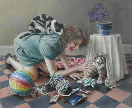 Scaredy Cat - Sally Moore