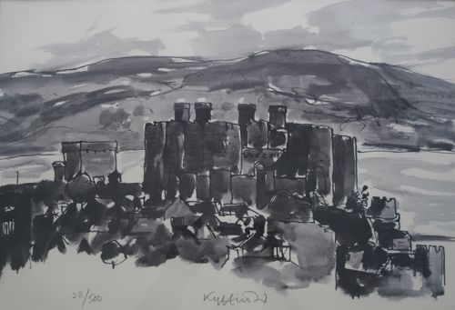 Conwy Castle - Kyffin Williams